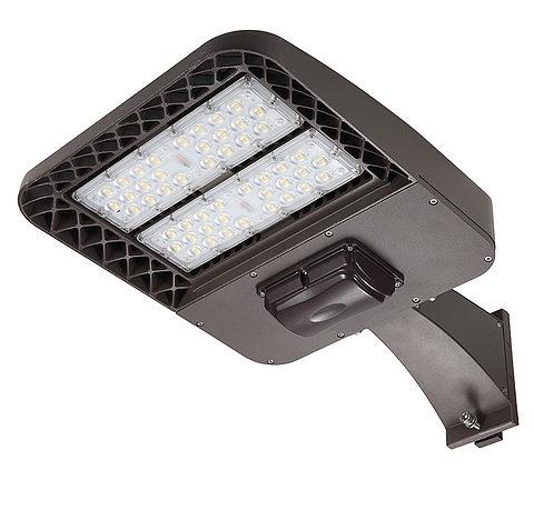 Luce di parcheggio a LED con attacco a palo quadrato