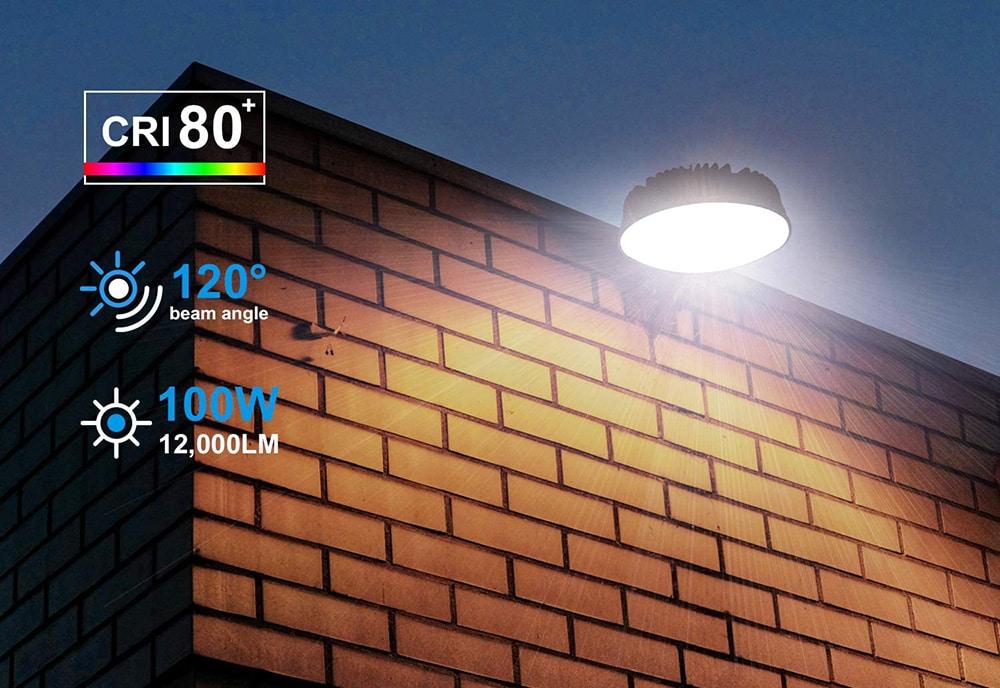 LED Barn light dal crepuscolo all'alba