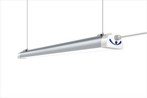 Luce ad alta baia lineare a LED senza abbagliamento 60W