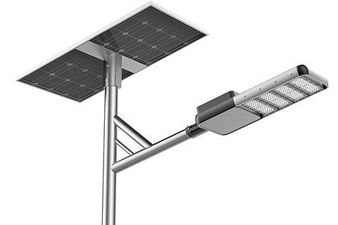 lampione solare 80w