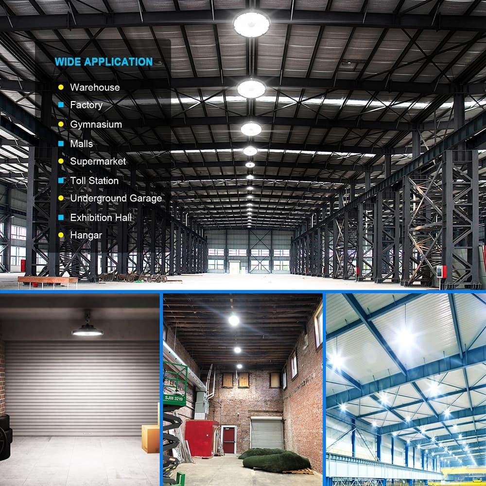 applicazione della luce del magazzino del LED
